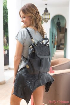 Cristina Ferreira with a #salsajeans jacket  #dailycristina #blogger