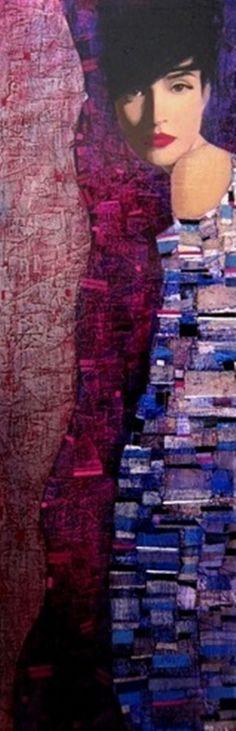 Richard Burlet - Klimpt influence