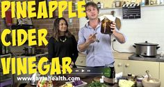 How To Make Pineapple Cider Vinegar Brew Your Own, Homemade Wine, Wine And Beer, Cider Vinegar, Wines, Pineapple, Keeping Room, Therapy, Youtube