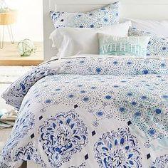 Kelly Slater Organic Ocean Floral Duvet Cover + Sham