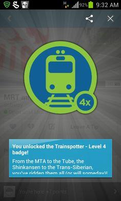 Trainspotter! #4sq Trans Siberian, Apps, App, Appliques