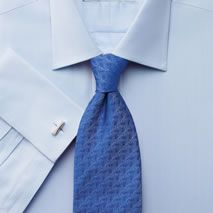 Charles Tyrwhitt's collection of dress, classic and formal shirts for men is available in a range of styles. Fitted Dress Shirts, Shirt Dress, French Cuff Shirts, Charles Tyrwhitt, Formal Shirts, S Man, Dandy, Workout Shirts, Herringbone