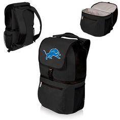 nice Detroit Lions Digital Print Zuma Cooler Backpack Black