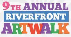Saint Charles Riverfront Arts 9th Annual ArtWalk - Friday through Sunday, July 11-13 at the Foundry Art Centre.