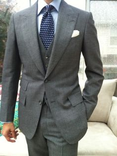 Groom's Suit but without the vest