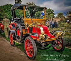 1908 Renault AX at the Arizona Concours d'Eligance