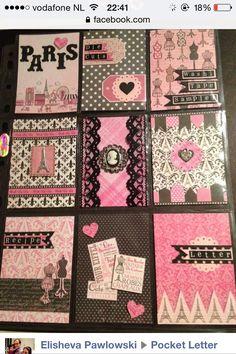 Pink paris pocket letter!