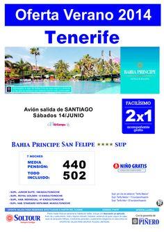Tenerife: 2x1 Bahía Príncipe San Felipe salidas desde Santiago de Compostela ultimo minuto - http://zocotours.com/tenerife-2x1-bahia-principe-san-felipe-salidas-desde-santiago-de-compostela-ultimo-minuto/