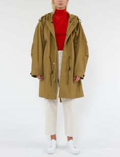 Joyhul outerwear-jackets Long Medieval Trench Woolen Coat Women Winter Stand Collar Overcoat Elegant Women Coat