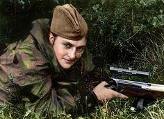 Lady Death (Lyudmila Pavlichenko) y otras francotiradoras soviéticas que aterrorizaron a los nazis