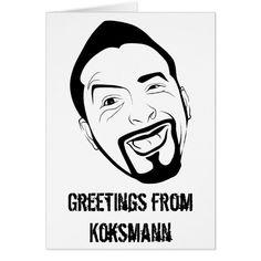 Das #unterhaltene #Koksmann #Mitteilungskarte | #Zazzle https://www.zazzle.de/das_unterhaltene_koksmann_mitteilungskarte-137526873677080587