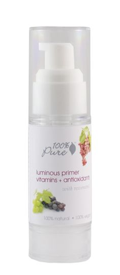 100% Pure Luminous Primer Vitamins + Antioxidants With Resveratrol [Primer]