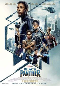 Pantera Negra - Filme ganha novo pôster internacional! - Legião dos Heróis