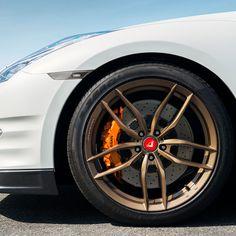 """20"""" Vorsteiner V-FF 105 Forged Concave Bronze Wheels Rims Fits Nissan GT-R #Vorsteiner #gtr #gtrwheels #vorsteinerVFF105 #vff105 #bronzeWheels #gtrBronze #vibemotorsports"""