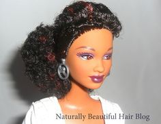 Black Barbie Dolls with Natural Hair | ... barbie more than mattel ever has barbie not only sports a new hair