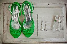 #RealBride Danike's apple green Kim Style #AnellaWeddingShoes www.weddingshoes.co.za Wedding Shoes, Cleats, Brides, Apple, Green, Fashion, Wedding Shoes Heels, Football Shoes, Moda