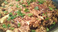 Lebanese Chicken With Rice