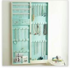 PB teen jewelry organizer