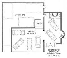 Car showroom design architect