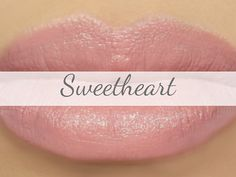 "Vegan Lipstick Sample - ""Sweetheart"" (neutral light pink) natural lip tint, balm, lip colour"