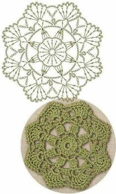 No 35 serrated medallion lace crochet motifs 톱니모양 모티브도안 – Artofit Motif Mandala Crochet, Crochet Flower Squares, Crochet Mandala Pattern, Crochet Square Patterns, Crochet Circles, Crochet Blocks, Crochet Diagram, Crochet Chart, Crochet Doilies