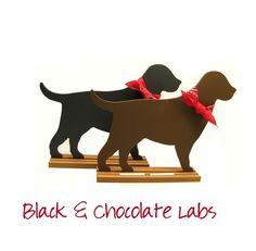 LABRADOR Dog Breed Shaped Chalkboard  Choose black by Twiceasnice, $36.00