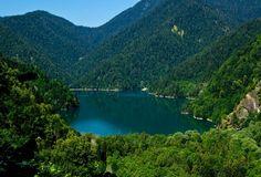 Озеро Рица, Абхазия Lake Ritsa, Abkhazia