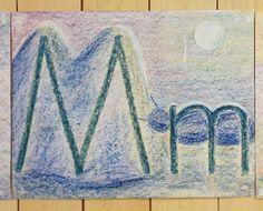 Beautiful work by Tine (grade 1).