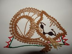 Bobbin Lace Patterns, Lace Heart, Lace Jewelry, Fauna, Lace Detail, Cute Pictures, Tatting, Needlework, Butterfly
