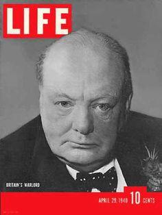 Life Magazine Cover Copyright 1940 Winston Churchill - www.MadMenArt.com | Our…