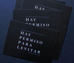 HAY PERMISO PARA LEVITAR via ALMACÉN DE ANÁLISIS. Click on the image to see more!
