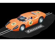 The Carrera 1/32 Porsche 904 Carrera GTS No.52, is a superbly detailed Carrera Evolution slot car for use on any 1/32 analogue slot car layout.