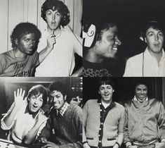 Paul McCartney Michael Jackson. What more could I ask for. The answer is nothing ;P