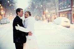 I want a winter wedding