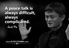 The founder of Alibaba, Jack Ma is no less than a genius. His journey to success is not an easy one. Jack Ma literally created rags-to-riches story. Maa Quotes, Wisdom Quotes, Life Quotes, Legend Quotes, Swami Vivekananda Quotes, Motivational Quotes, Inspirational Quotes, English Writing Skills, Sweet Words