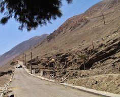 El barrio Huella Tres Puntas en Marzo de 2008, luego de retirados los escombros de las casas que sucumbieron al terremoto de Nov. de 2007.