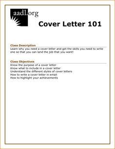 Employment Application Letter - An application for employment, job ...