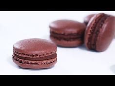 Chocolate Macarons :: Home Cooking Adventure