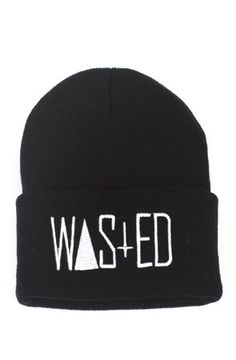 WASTED Beanie for Men by Rum
