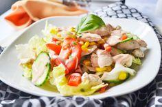 Ein beliebtes Rezept der schnellen Küche aus den USA ist der leckere amerikanische Geflügelsalat.