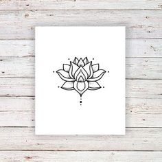Small lotus temporary tattoo / boho temporary tattoo / boho tattoo / lotus tattoo / lotus fake tattoo / boho gift idea - Small lotus temporary tattoo / Bohemian temporary tattoo / Best Picture For traditional tattoo Fo - Boho Tattoos, Fake Tattoos, Great Tattoos, Trendy Tattoos, Temporary Tattoos, Flower Tattoos, New Tattoos, Girl Tattoos, Small Tattoos