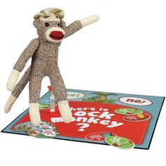 Where Is Sock Monkey Game 20 Question... $89.01 #bestseller