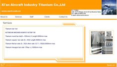 Xi'an Aircraft Industry Titanium Co.,Ltd E-mail: sales@xacti.com.cn  Web: www.xacti.com.cn Round Bar, Aircraft, Industrial, Ads, Aviation, Plane, Airplanes, Planes, Airplane