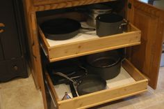 Pull-out Cabinet Drawers | Organize