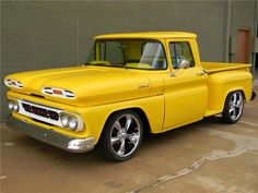 Chevrolet Custom Pick-Up◆ Classic Pickup Trucks, Old Pickup Trucks, Gm Trucks, Cool Trucks, Cool Cars, Dually Trucks, Diesel Trucks, Lifted Trucks, Custom Trucks