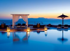 Mykonos Grand Resort on Mykonos Island, Greece