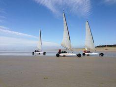 Les joies de la glisse en char à voile, Les passagers du vent, Plouharnel