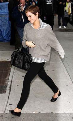 emma watson. definetly #2 fashion idol, #1 being kate middleton