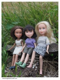 Tree Change Dolls, by Sonia Singh. Yes, I'd love these dollies for all the little ones so they can see their own beauty without the made up FAR TOO MATURE or REALISTIC little girl doll. Little People, Little Ones, Sonia Singh, Tree Change Dolls, Real Life Baby Dolls, Newborn Baby Dolls, Bratz Doll, Doll Repaint, Barbie World