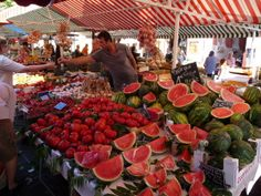 outdoor markets | Up Close Picture of the Week: Nice, France | EuropeUpClose.com